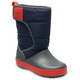 Crocs LodgePoint Boots Children red/blue